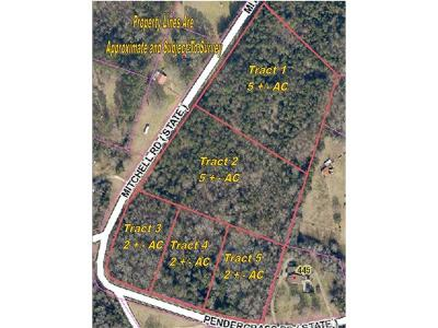 Residential Lots & Land For Sale: Tract 5 2 AC Pendergrass Road