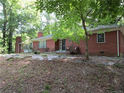 Cherryville Single Family Home For Sale: 865 Old Post Road #Lots 38
