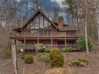 Mill Spring Single Family Home For Sale: 106 Island View Court