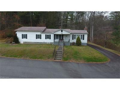 Brevard Single Family Home Under Contract-Show: 554 Cathey's Creek Church Road
