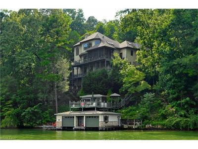 Chimney Rock, Lake Lure, Mill Spring, Bat Cave, Hendersonville, Saluda, Gerton, Black Mountain, Columbus, Tryon, Rutherfordton Single Family Home For Sale: 142 Waters Edge Court