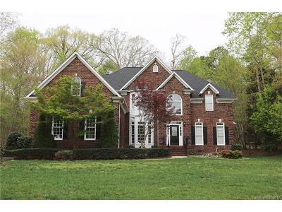 Mint Hill Single Family Home For Sale: 6235 Hollow Oak Drive