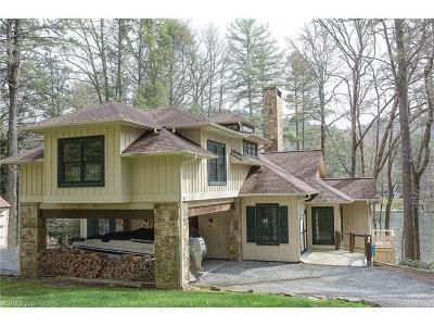 Transylvania County Single Family Home For Sale: 2012 West Club Boulevard #88R