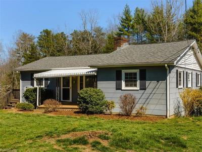 Weaverville Single Family Home Under Contract-Show: 8 Garrison Road