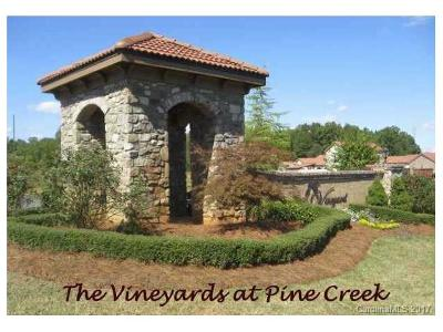 Cabarrus County Residential Lots & Land For Sale: 6042 Chardonnay Circle #Lot #2