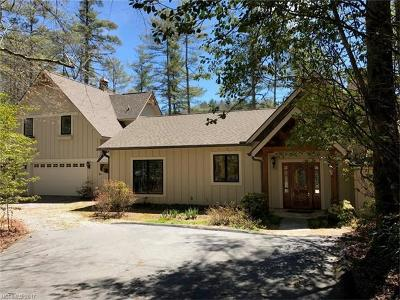 Transylvania County Single Family Home For Sale: 2153 Upper Whitewater Road #188/1