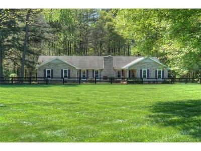 Huntersville Single Family Home For Sale: 10128 Hambright Road