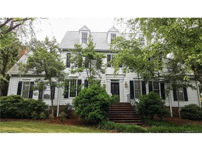 Charlotte Single Family Home For Sale: 5235 Shadow Pond Lane