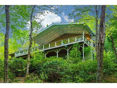Brevard Single Family Home For Sale: 530 Sunny Acre Lane