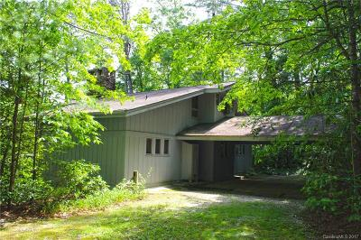 Transylvania County Single Family Home Under Contract-Show: 16 Indian Trace