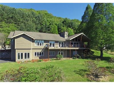 Waynesville Single Family Home For Sale: 644 Rogers Cove Road