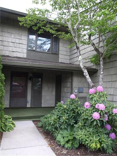 Waynesville Condo/Townhouse Under Contract-Show: 68 Ninevah Road #119A