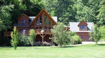 Waynesville Single Family Home For Sale: 64 Cradling Cove
