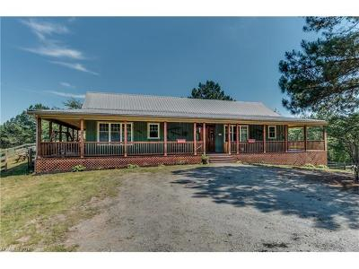 Mill Spring Single Family Home For Sale: 269 Henry Ruff Road