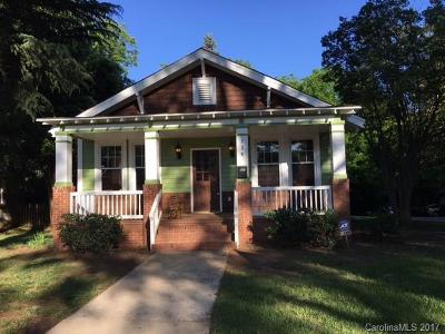 Charlotte Single Family Home For Sale: 139 S Summit Avenue