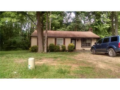 Charlotte NC Single Family Home For Sale: $124,000