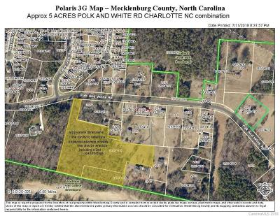 Residential Lots & Land For Sale: Polk And White Road