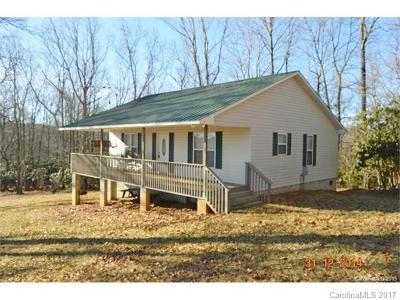 Sparta NC Single Family Home For Sale: $164,000