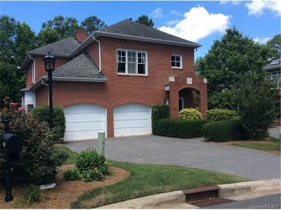 Charlotte Single Family Home For Sale: 4101 Sharon Commons Lane #13