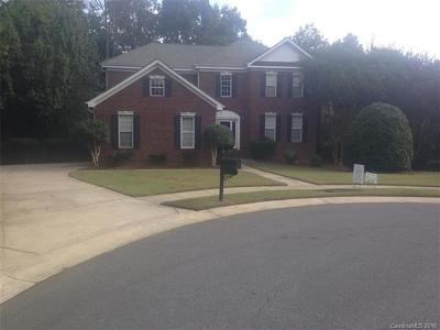 Charlotte Single Family Home For Sale: 9321 Percy Court