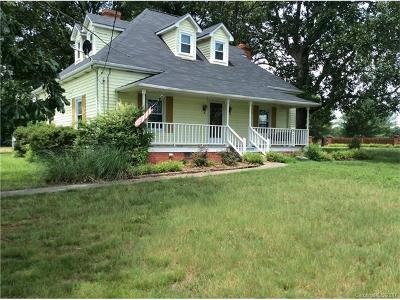Wingate Single Family Home For Sale: 3904 Old Pageland Marshville Road