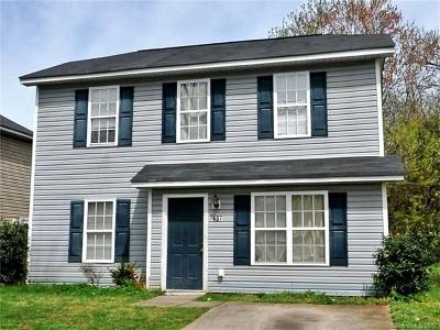 Charlotte Single Family Home For Sale: 407 French Street
