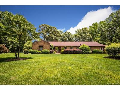 Mint Hill Single Family Home For Sale: 4420 Walter Nelson Road
