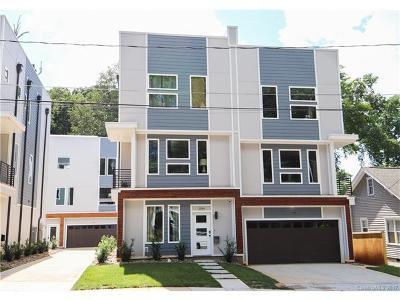 Charlotte Condo/Townhouse For Sale: 208 Walnut Avenue #B