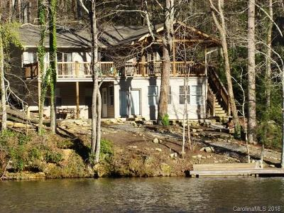 Bat Cave, Black Mountain, Chimney Rock, Lake Lure, Rutherfordton, Mill Spring, Columbus, Tyron, Union Mills Single Family Home For Sale: 1805 Buffalo Creek Road #21