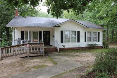 Wadesboro Single Family Home For Sale: 216 Bennett Street