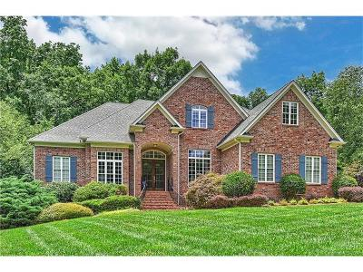 Matthews Single Family Home Under Contract-Show: 1405 Weddington Hills Drive
