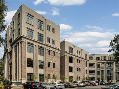 Charlotte Condo/Townhouse For Sale: 1333 Queens Road #C4