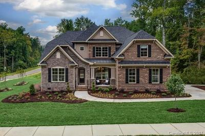 Waxhaw Single Family Home For Sale: 1111 Rosecliff Drive #3