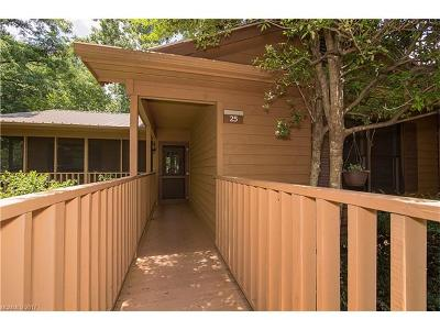 Lake Lure Condo/Townhouse For Sale: 182 Bent Creek Boulevard #25