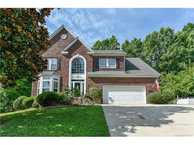 Indian Trail Single Family Home For Sale: 1407 Deer Spring Court