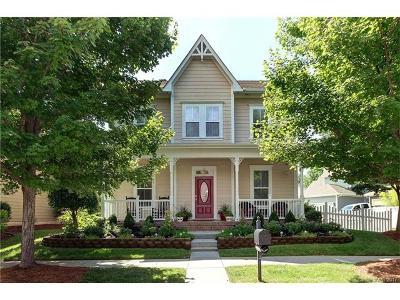 Cornelius Single Family Home For Sale: 8710 Westmoreland Lake Drive