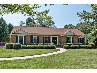 Charlotte Single Family Home For Sale: 3808 Table Rock Road