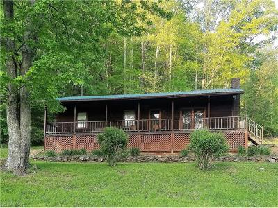 Bryson City Single Family Home For Sale: 1488 Marr Creek Road