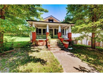Asheville Single Family Home For Sale: 292 State Street