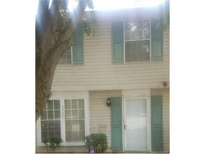 Charlotte NC Condo/Townhouse For Sale: $84,500
