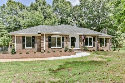 Mint Hill Single Family Home Under Contract-Show: 9543 Surface Hill Road