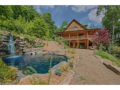Maggie Valley Single Family Home For Sale: 3545 Black Camp Gap Road