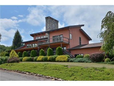 Waynesville Single Family Home For Sale: 2709 Utah Mountain Road