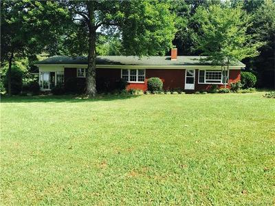 Mount Gilead NC Single Family Home For Sale: $126,500