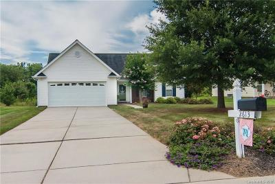 Stanly County Single Family Home Under Contract-Show: 2613 Parkwest Drive