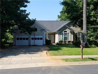 Charlotte Single Family Home For Sale: 7305 Reedy Creek Road