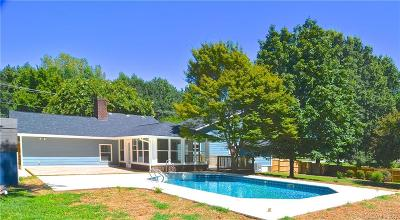 Concord Single Family Home Under Contract-Show: 6313 Weddington Road