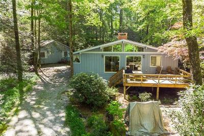 Lake Toxaway Single Family Home For Sale: 705 Shelton Road #723 &amp