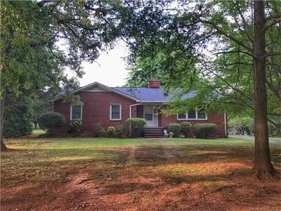 Single Family Home For Sale: 1106 Mineral Springs Road