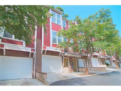 Charlotte Condo/Townhouse For Sale: 2504 Cranbrook Lane #6